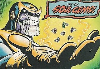 Infinity Gems Comic items with the power to grant a user an ability
