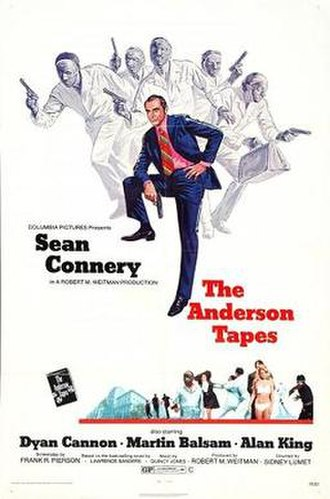 The Anderson Tapes - original movie poster