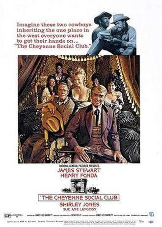 The Cheyenne Social Club - Image: The Cheyenne Social Club original poster