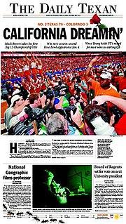 <i>The Daily Texan</i>