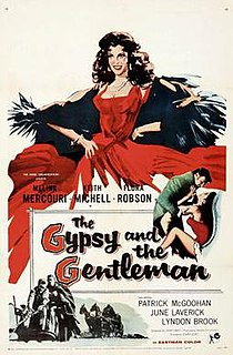 <i>The Gypsy and the Gentleman</i> 1958 film by Joseph Losey