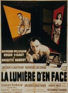 1955 French film directed by Georges Lacombe