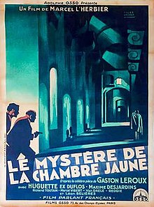 The Mystery of the Yellow Room (1930 film) - Wikipedia