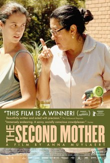 The Second Mother (2015 film) POSTER.jpg