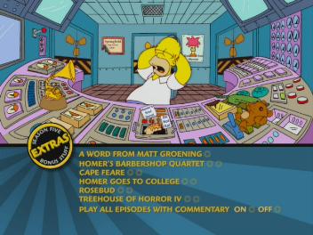 The Simpsons - Season 5 DVD menu