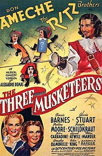 <i>The Three Musketeers</i> (1939 film) 1939 film by Allan Dwan