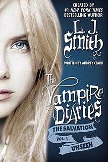 <i>The Vampire Diaries</i> (novel series) series of fantasy novels