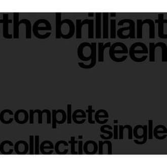 Complete Single Collection '97–'08 - Image: The brilliant green complete singles collection