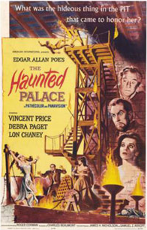 The Haunted Palace - Original US film poster by Reynold Brown