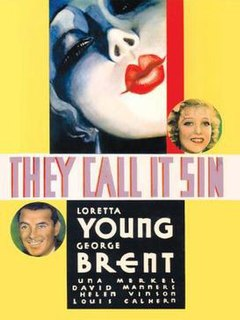 <i>They Call It Sin</i> 1932 film