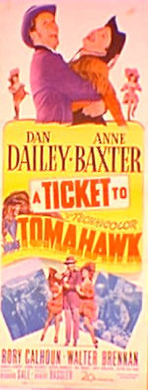 A Ticket to Tomahawk - Image: Ticket 11