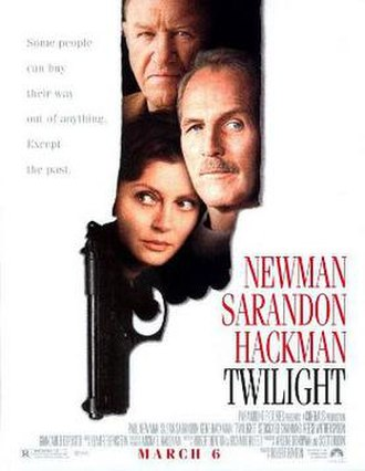 Twilight (1998 film) - Theatrical release poster