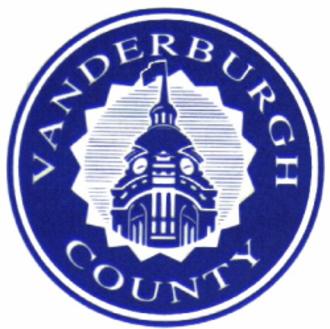 Vanderburgh County, Indiana - Image: Vanderburgh County in seal
