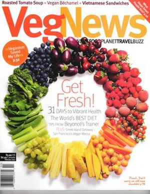 VegNews - Image: Veg News January 2012 cover