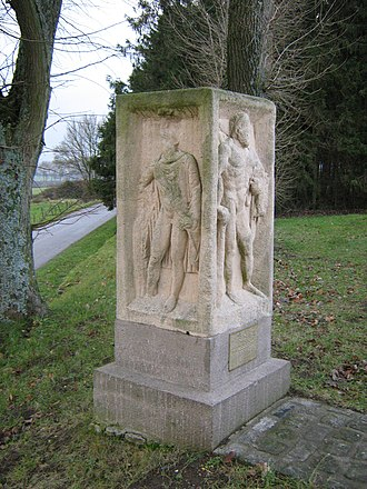 Kehlen - Pedestal to the four gods, Kehlen