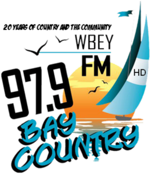 WBEY-FM - Image: WBEY 97.9Bay Country logo