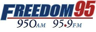 WXLW - Image: WXLW WFDM freedom 95 logo