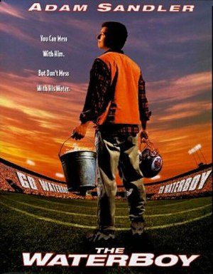 The Waterboy - Theatrical release poster