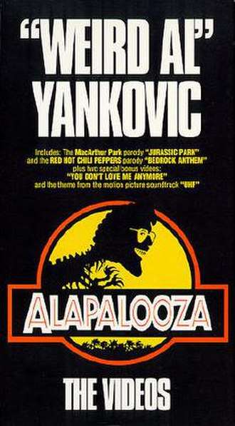 Alapalooza: The Videos - Alapalooza: The Videos VHS cover