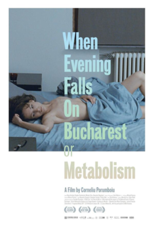 When Evening Falls on Bucharest or Metabolism - Film poster