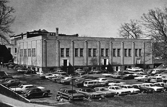 Wills Gymnasium - Rear view in 1969