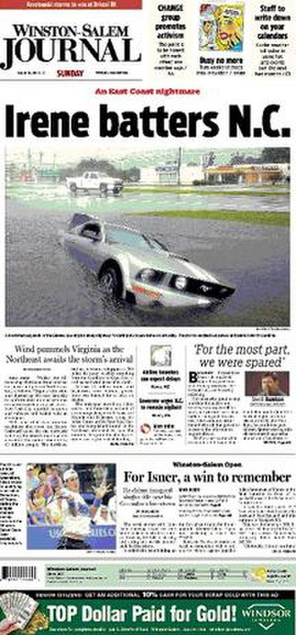 Winston-Salem Journal - Image: Winstonsalemjournal