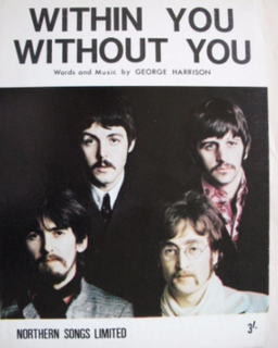 Within You Without You original song written and composed by George Harrison