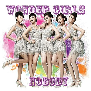 Nobody (Wonder Girls song) - Image: Wonder Girls Nobody Single