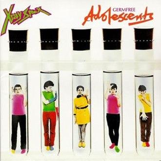 Germfree Adolescents - Image: X Ray Spex Germfree Adolescents album cover