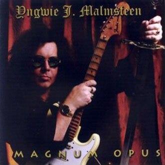 Magnum Opus (Yngwie Malmsteen album) - Image: Yngwie Malmsteen 1995 Magnum Opus (Japanese)