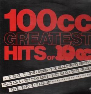 100cc - Image: 100cc Greatest Hits of 10cc