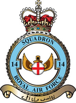 No. 14 Squadron RAF - 14 Squadron badge
