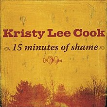 15 Minutes of Shame (Kristy Lee Cook single - cover art).jpg