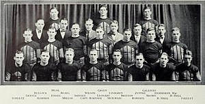 1924 Illinois Fighting Illini football team - Image: 1924 Illinois Fighting Illini football team