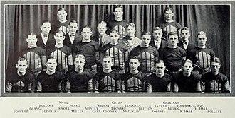 1924 Illinois Fighting Illini football team - Image: 1924 Illinois Fighting Illini football team
