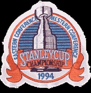 1994 Stanley Cup Finals - Image: 1994stanleycupfinals