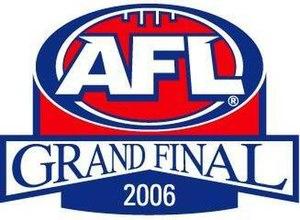 2006 AFL Grand Final - Image: 2006 AFL Grand Final Logo