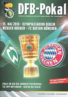 2010 DFB-Pokal Final Football match