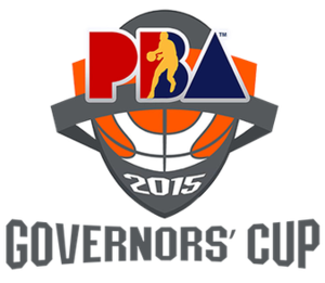 2015 PBA Governors' Cup - Image: 2015 PBA Governors' Cup Logo