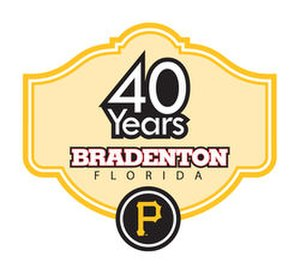 LECOM Park - The Pirates 40th Anniversary in Bradenton Logo