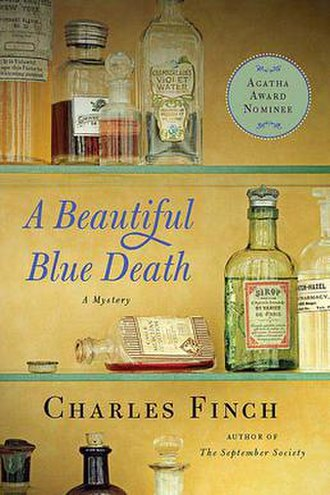 A Beautiful Blue Death - Paperback cover