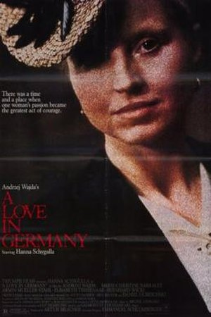 A Love in Germany - US poster