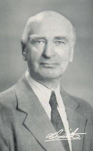 Albert Edward Smith - Rev. Albert Edward Smith