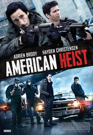 American Heist - US theatrical poster