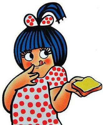 Amul girl - Amul Girl, an advertising mascot used by Amul, an Indian dairy brand.