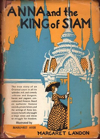 Anna and the King of Siam (novel) - First edition (publ. John Day)