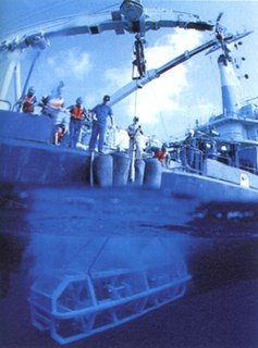 <i>Argo</i> (ROV) unmanned submersible