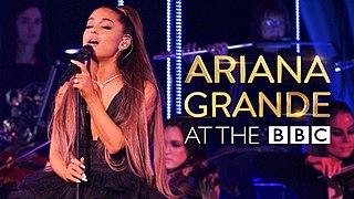 <i>Ariana Grande at the BBC</i>
