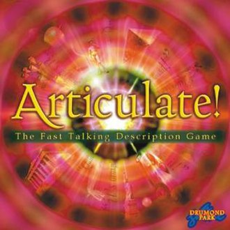Articulate! - Cover of the board game Articulate.