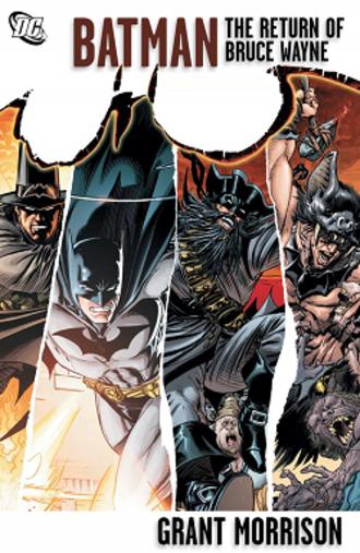 Batman: The Return of Bruce Wayne - Cover of Batman: The Return of Bruce Wayne deluxe edition.  Art by Andy Kubert.